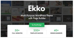 Read more about the article Ekko 3.0 Nulled – Multi-Purpose WordPress Theme with Page Builder