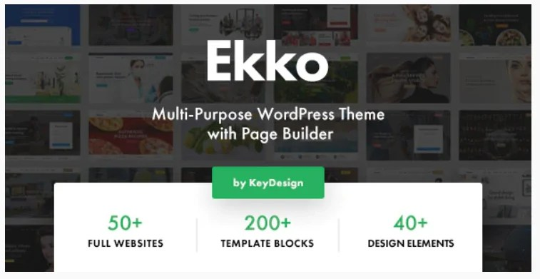 You are currently viewing Ekko 3.0 Nulled – Multi-Purpose WordPress Theme with Page Builder