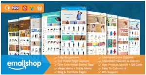 Read more about the article EmallShop 2.2.19 Nulled – Responsive WooCommerce WordPress Theme