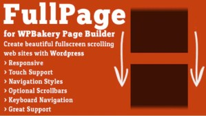 Read more about the article FullPage for WPBakery Page Builder 2.1.4 Nulled