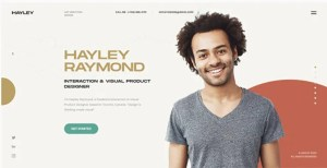 Read more about the article HAYLEY – Creative Personal CV/Resume HTML Template