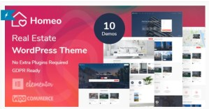 Read more about the article Homeo 1.2.20 – Real Estate WordPress Theme