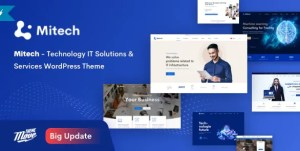 Read more about the article Mitech 1.6.4 NULLED – IT Solutions & Services WordPress Theme