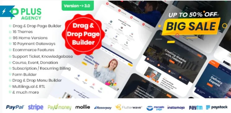 Read more about the article PlusAgency 3.0 Nulled – Multipurpose Website CMS & Business Agency Management System