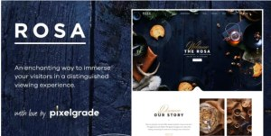 Read more about the article ROSA 2.9.0 Nulled – An Exquisite Restaurant WordPress Theme