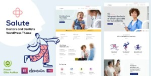Read more about the article Salute 34 NULLED – Medical WordPress Theme
