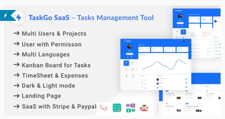 You are currently viewing TaskGo SaaS 2.6.0 Nulled – Tasks Management Tool