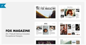 Read more about the article The Fox 4.6.5.2 – Minimal WordPress Blog Magazine Theme