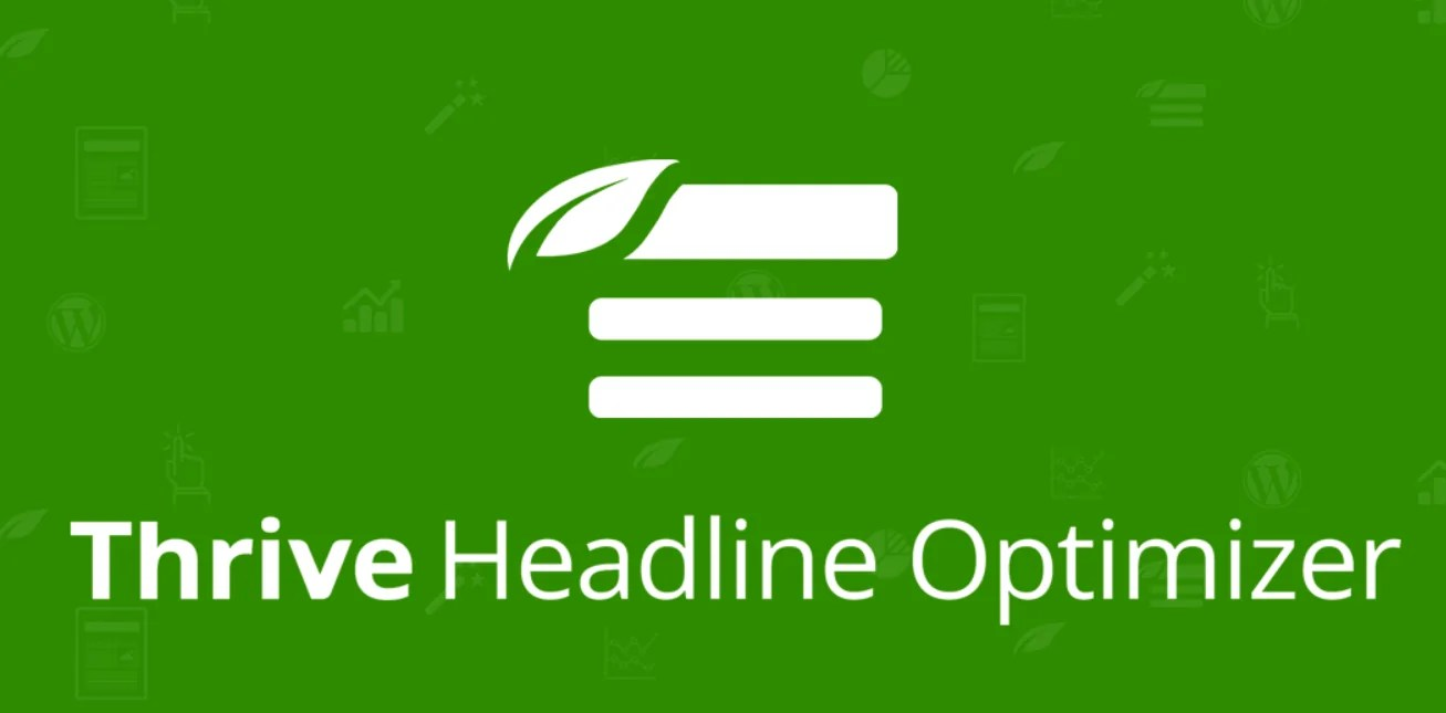 You are currently viewing Thrive Headline Optimizer 1.9 NULLED – Beautiful Headlines For WordPress