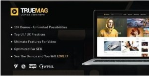 Read more about the article True Mag 4.3.7 – WordPress Theme for Video and Magazine