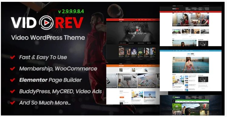 You are currently viewing VidoRev 2.9.9.9.8.6 NULLED – Video WordPress Template