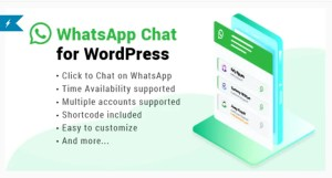 Read more about the article WhatsApp Chat WordPress 3.1.2 – WhatsApp Chat For WordPress