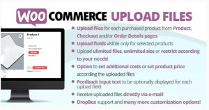 Read more about the article WooCommerce Upload Files 60.4 Nulled – WP Plugin