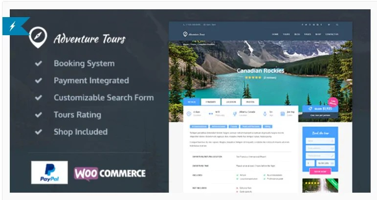 You are currently viewing Adventure Tours 4.1.5.1 – WordPress Tour/Travel Theme