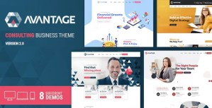 Read more about the article Avantage 2.2.2 – Business Consulting WordPress Theme