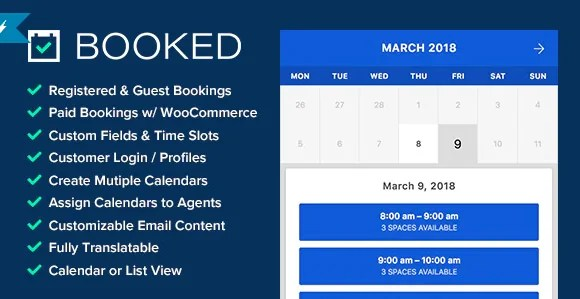 You are currently viewing Booked 2.3.5 – Appointment Booking for WordPress