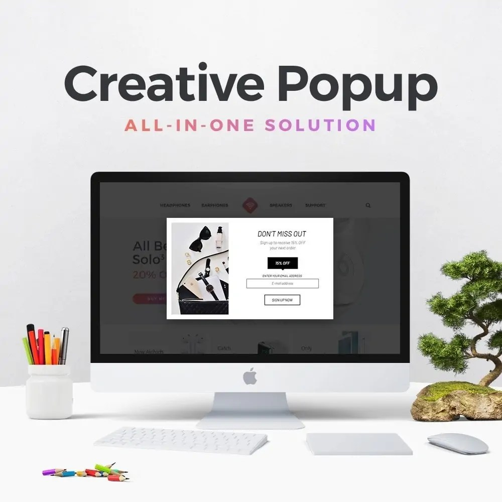 You are currently viewing Creative Popup 1.6.8 – Prestashop Module