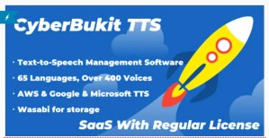 Read more about the article CyberBukit TTS 1.0.5 Nulled – Text to Speech – SaaS Ready