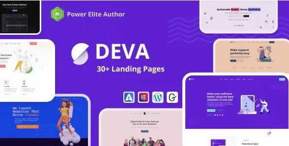 You are currently viewing Deva 1.1.1 – 30+ Landing Pages