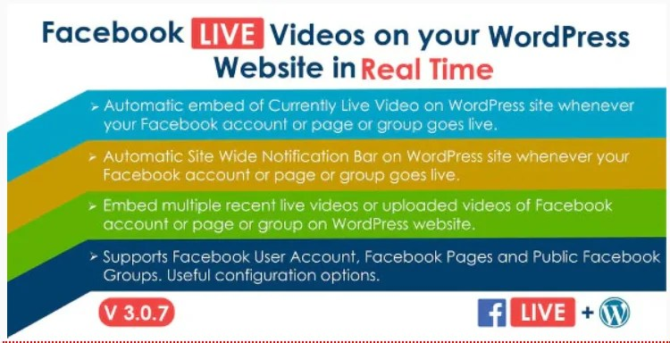 You are currently viewing Facebook Live Video Auto Embed 3.0.7 Nulled – WP Plugin