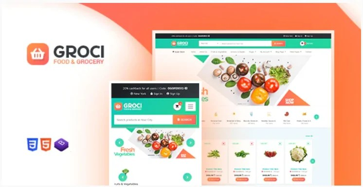 You are currently viewing Groci 2.1.1 – Organic Food and Grocery Market WordPress Theme