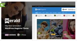 Read more about the article Herald 2.4 – Newspaper & News Portal WordPress Theme