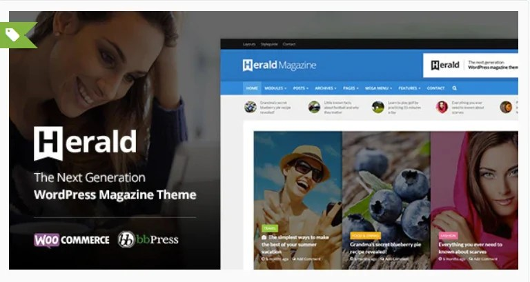 You are currently viewing Herald 2.4 – Newspaper & News Portal WordPress Theme