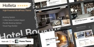 Read more about the article Holleta 1.0.0 – Hotel Booking WordPress