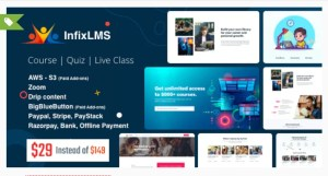 Read more about the article Infix LMS 3.0.7 Nulled – Learning Management System