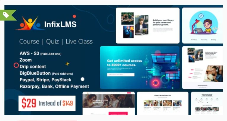 You are currently viewing Infix LMS 3.0.7 Nulled – Learning Management System