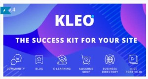 Read more about the article KLEO 5.0.1 Nulled – Pro Community Focused, Multi-Purpose BuddyPress Theme