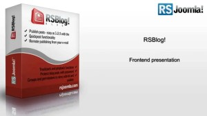 Read more about the article RSBlog 1.13.24 – Joomla Extension