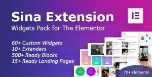 Read more about the article SEFE 1.1.7 NULLED – Sina Extension for Elementor