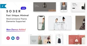Read more about the article Sober 3.1.3 – WooCommerce WordPress Theme