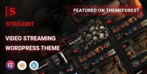 Read more about the article Streamit 1.3.1 – Video Streaming WordPress Theme + RTL