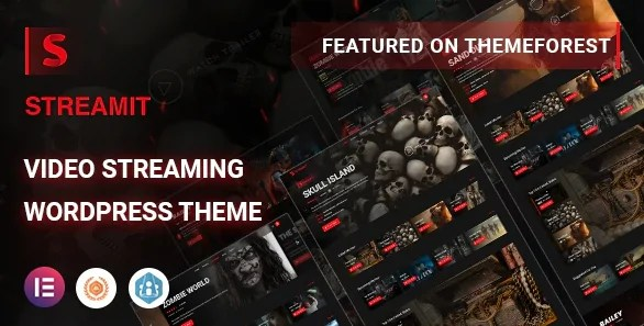 You are currently viewing Streamit 1.3.1 – Video Streaming WordPress Theme + RTL