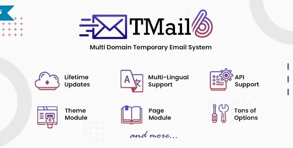 You are currently viewing TMail 6.6.1 NULLED – Multi Domain Temporary Email System