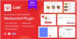 Read more about the article WP Cafe 1.3.6 – Restaurant Reservation, Food Menu & Food Ordering for WooCommerce