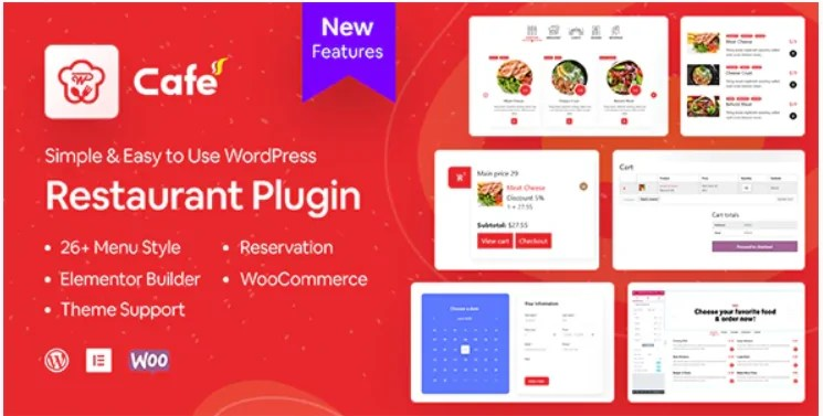 You are currently viewing WP Cafe 1.4.3 – Restaurant Reservation, Food Menu & Food Ordering for WooCommerce