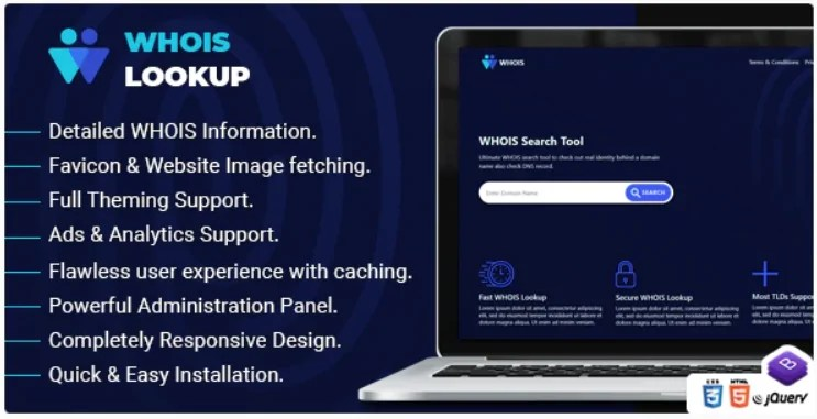 You are currently viewing Whois Lookup 1.2 Nulled – PHP Whois Script