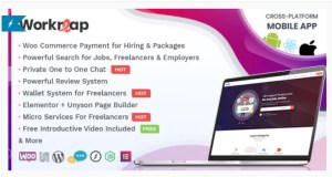 Read more about the article Workreap 2.2.7 – Freelance Marketplace and Directory WordPress Theme
