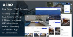 Read more about the article Xero 1.1.0 – Real Estate HTML Template