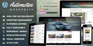 Read more about the article Automotive 12.1 Nulled – Car Dealership Business WordPress Theme