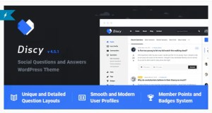 Read more about the article Discy 4.6 Nulled – Social Questions and Answers WordPress Theme