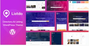 Read more about the article Listdo 1.0.10 – Directory Listing WordPress Theme