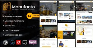 Read more about the article Manufacto 2.4 – Factory WordPress Theme
