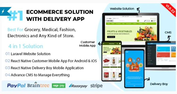 You are currently viewing React Native Delivery Solution with Advance Website and CMS 1.0.22.1 Nulled