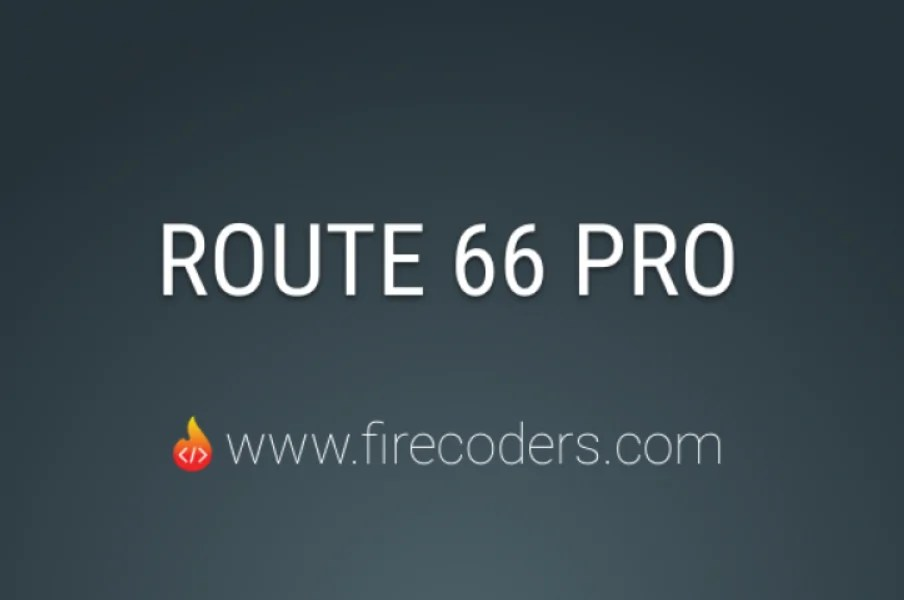 Read more about the article Route 66 PRO 1.9.1 – Joomla Plugin