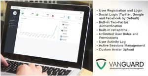 Read more about the article Vanguard 6.0.0 – Advanced PHP Login and User Management