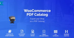 Read more about the article WooCommerce PDF Catalog 1.15.8 – WordPress Plugin